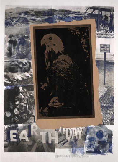 Robert Rauschenberg, American, 1925–2008, Earth Day, 1970