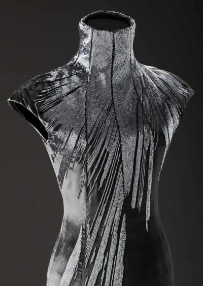 Alexander McQueen, dress, designed 2007