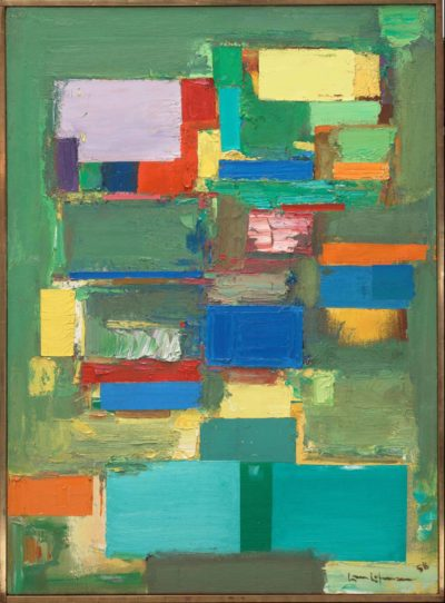 Hans Hofmann, Morning Mist, 1958