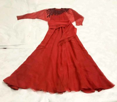 Halston evening dress