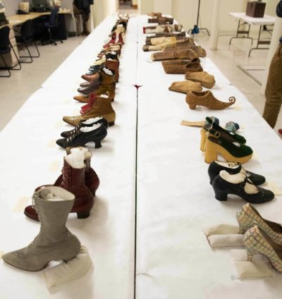 shoe collection at PEM