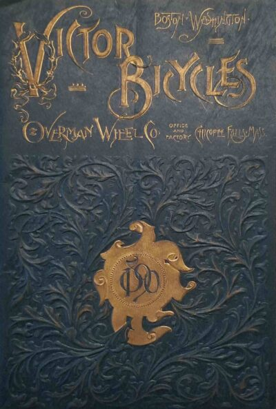 Victor Bicycles catalog cover, 1890