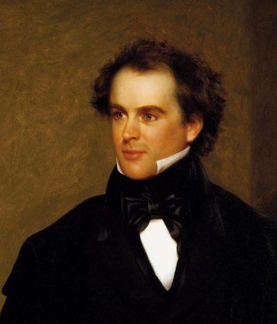 Charles Osgood, Portrait of Nathaniel Hawthorne, 1840