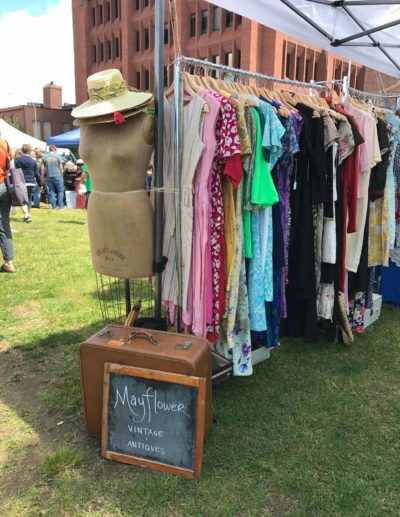 Mayflower Vintage popping up at the Providence Flea, 2018