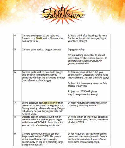 FableVision script document.