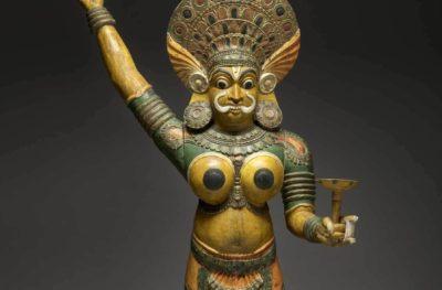 Indian artist, The Goddess Vasurimala, mid-19th century