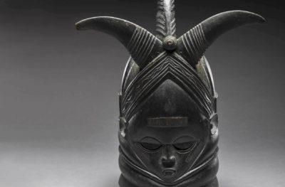 African artist Ndoli Jowei, mask, late 19th
