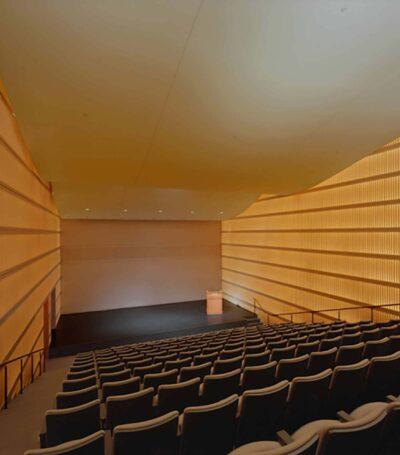 View of the Morse Auditorium interior