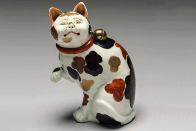 Incense holder, about 1690, Porcelain and lacquered silver