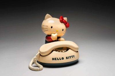Hello Kitty rotary telephone