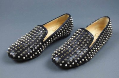 Christian Louboutin, shoes, early 21st century. Gift of Joanna Prager Johnsen, Marcy Prager and Daniel Prager. © Peabody Essex Museum.