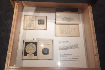 in the Lunar Attractions exhibit
