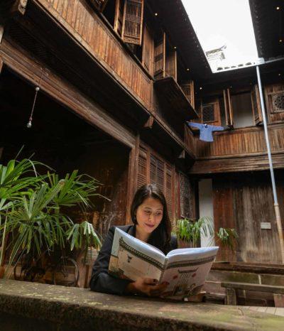 Susan Tan in Yin Yu Tang