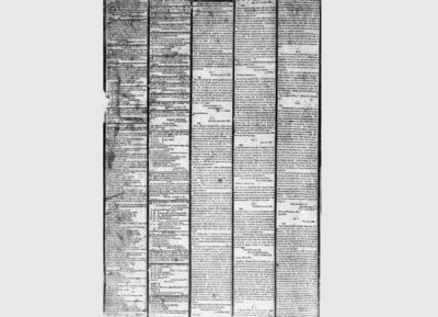 """Alexander Hamilton, """"Statement on Impending Duel with Aaron Burr"""" in Hamilton's Letter Prior to Duel, and Last Will & Testament, New-York Evening Post, July 16, 1804"""