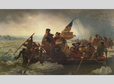 Emanuel Leutze, Washington Crossing the Delaware, 1851, The Metropolitan Museum of Art, gift of John Stewart Kennedy, 1897, 97.34
