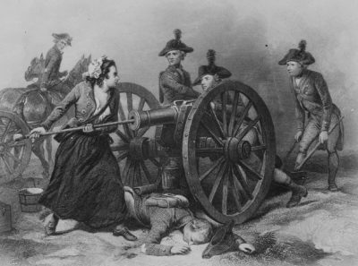 James Charles Armytage, Molly Pitcher at the Battle of Monmouth, June 1778, about 1859, courtesy of the Library of Congress, Prints and Photographs Division