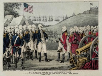 James S. Baillie, Surrender of Cornwallis, 1845, Gilder Lehrman Collection