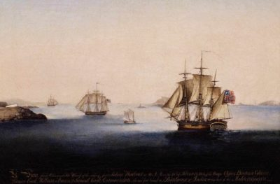 Sailing from Salem Harbor on the 21st of February 1802