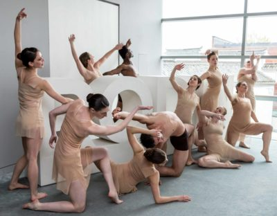 The BoSoma Dance Company during the opening of the exhibition. Photo by Kathy Tarantola/PEM