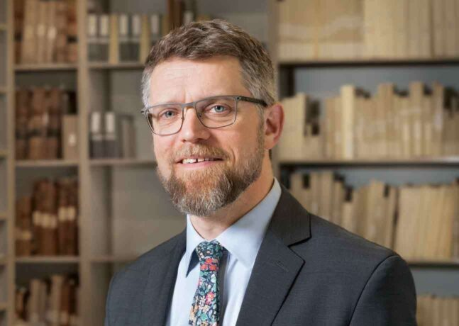 Dan Lipcan appointed as the Ann C. Pingree Director of the Phillips Library