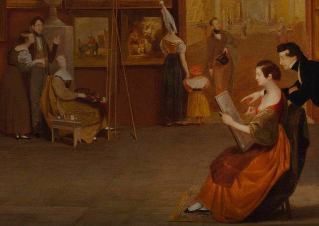 PEM Decodes a Masterpiece in 'Samuel F. B. Morse's Gallery of the Louvre and the Art of Invention'