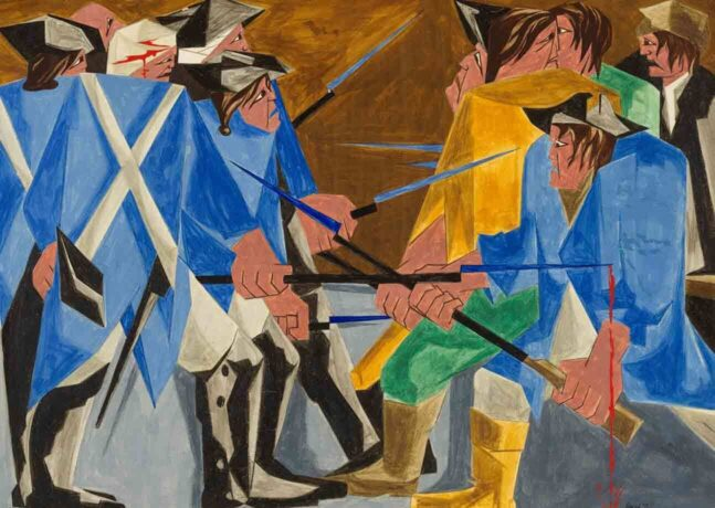 Historic Jacob Lawrence Exhibition Leads to  Discovery of Missing Painting