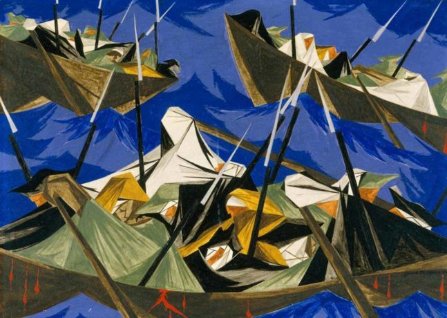 PEM Reunites Celebrated Painting Series by Jacob Lawrence for Nationally-Touring Exhibition
