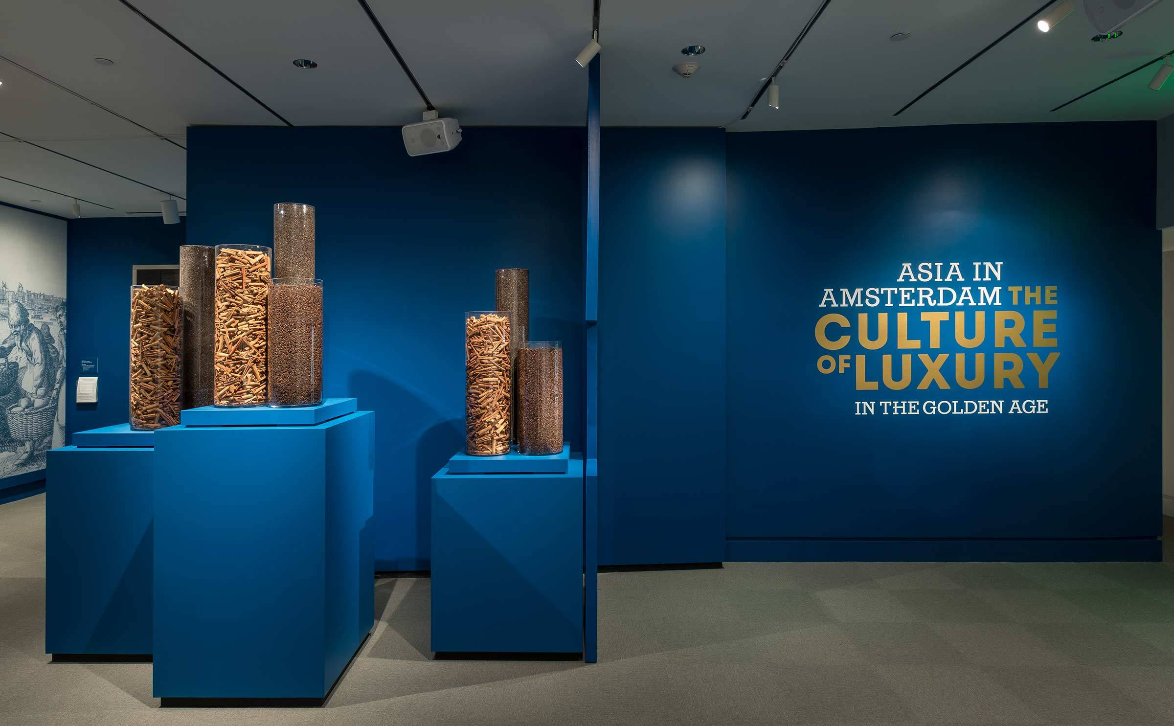 spices in Asia in Amsterdam exhibition