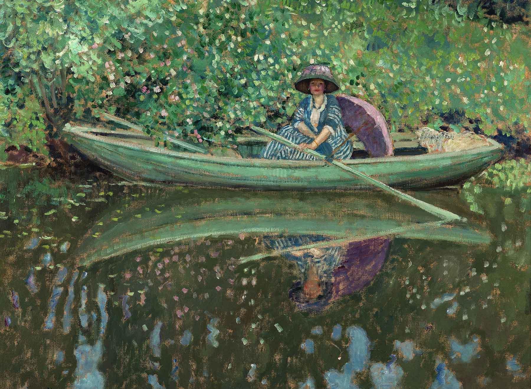 Frederick Carl Frieseke, On the River, 1908