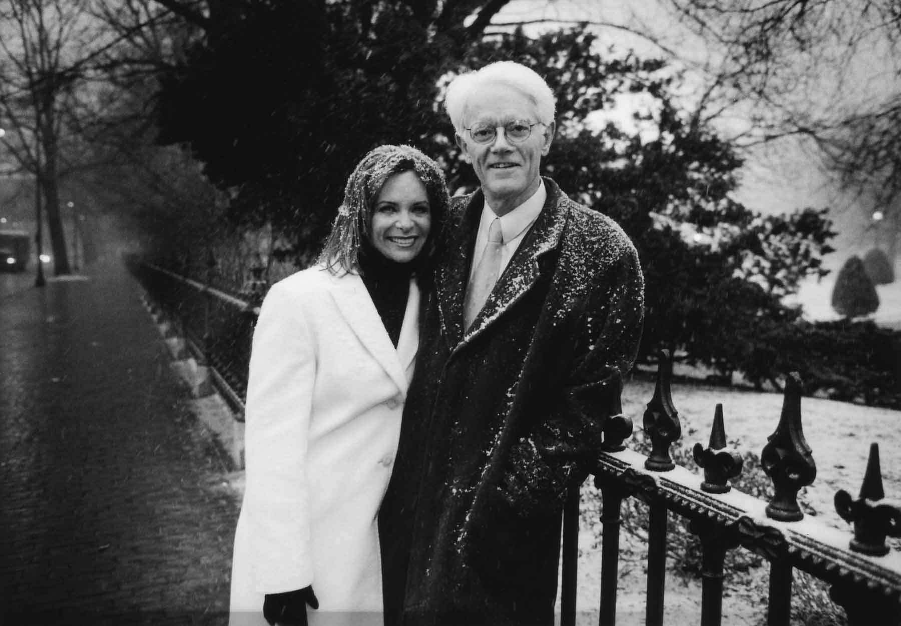 Carolyn and Peter Lynch