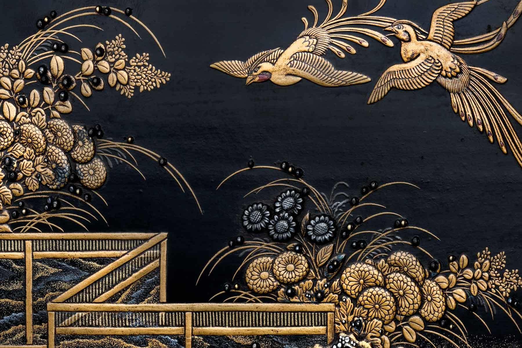 Japanese artist, jewel box (detail), about 1640