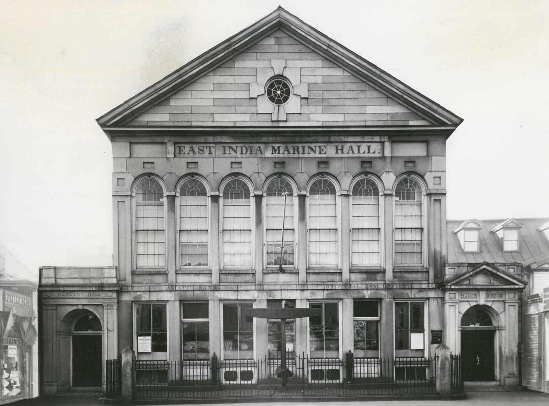 East India Marine Hall, ca. 1958