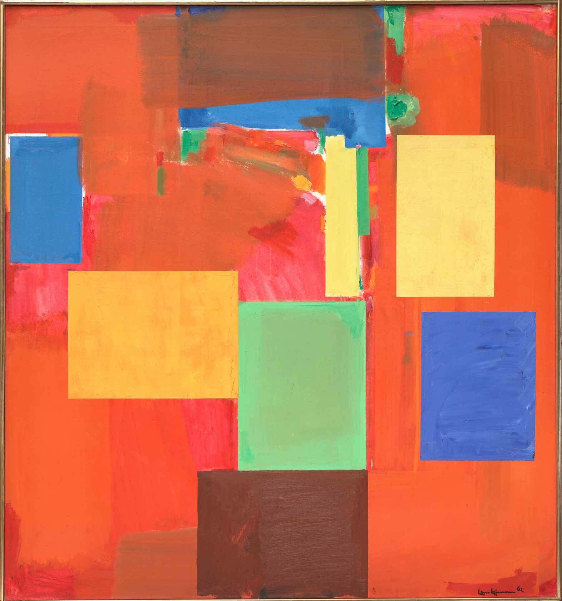 Hans Hofmann, Sanctum Sanctorum