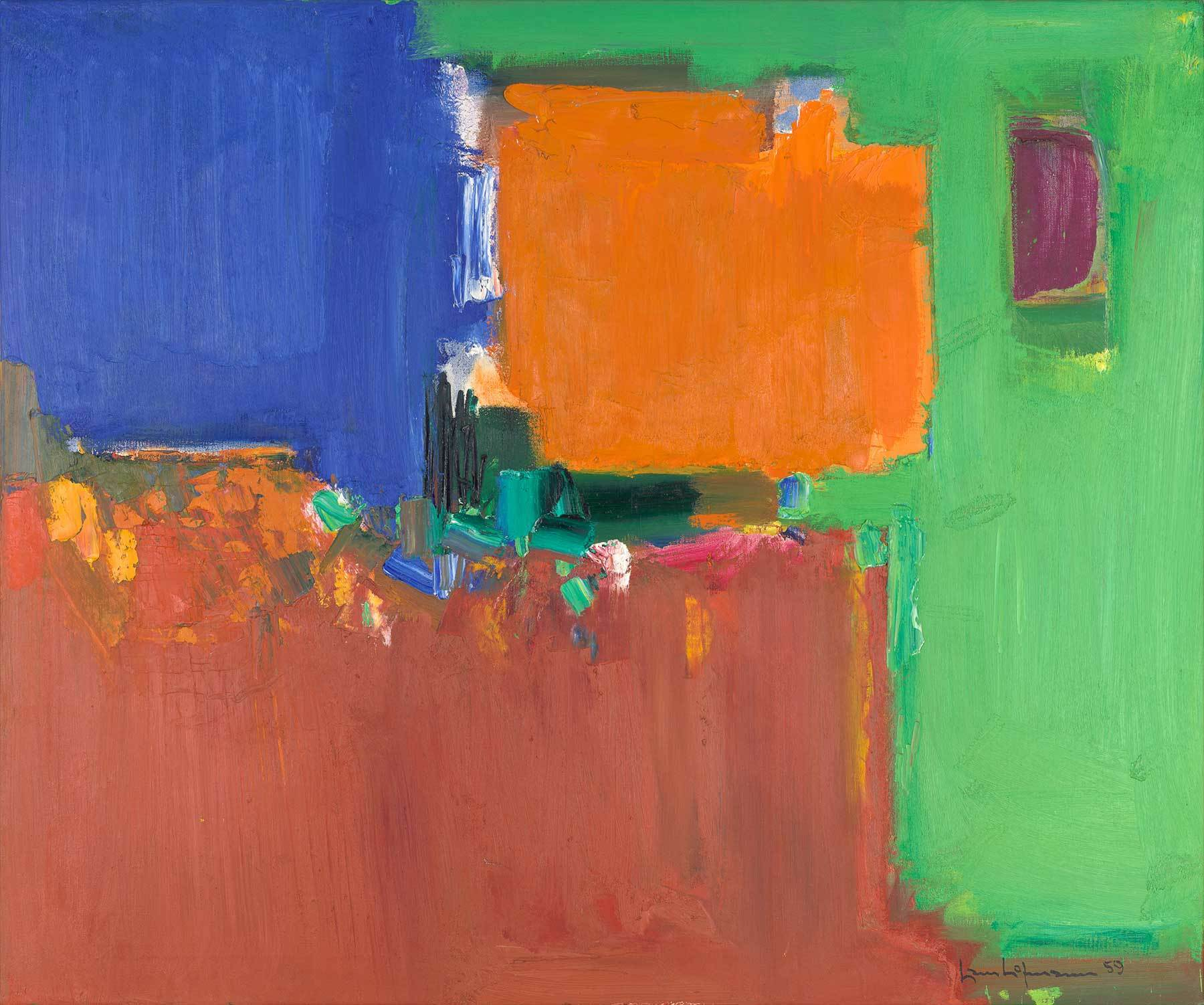 Hans Hofmann: Indian Summer, 1959