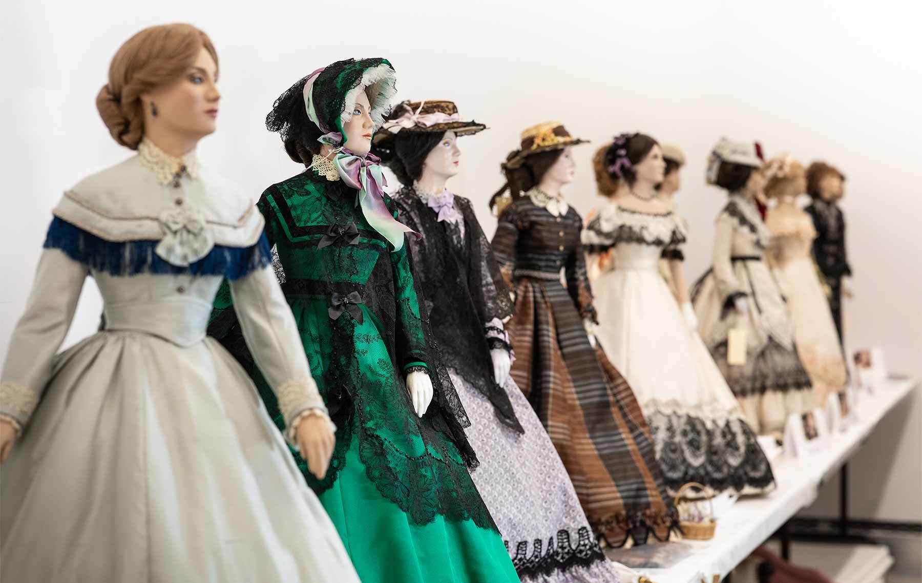 John Burbidge dolls