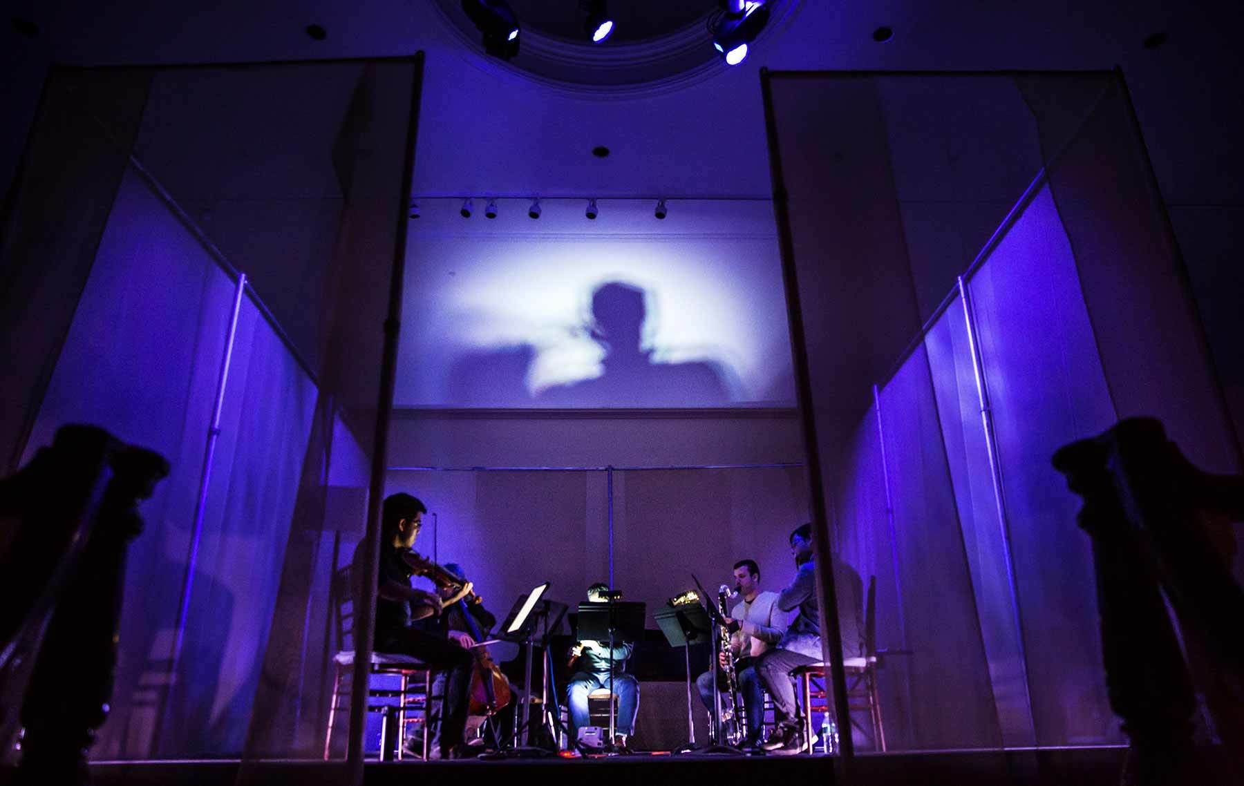 In the Current: Hub New Music performing with Matthew Aucoin