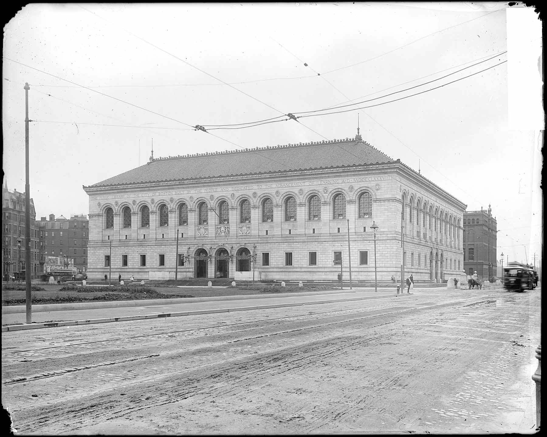 """Boston Public Library,"" Cousins collection"