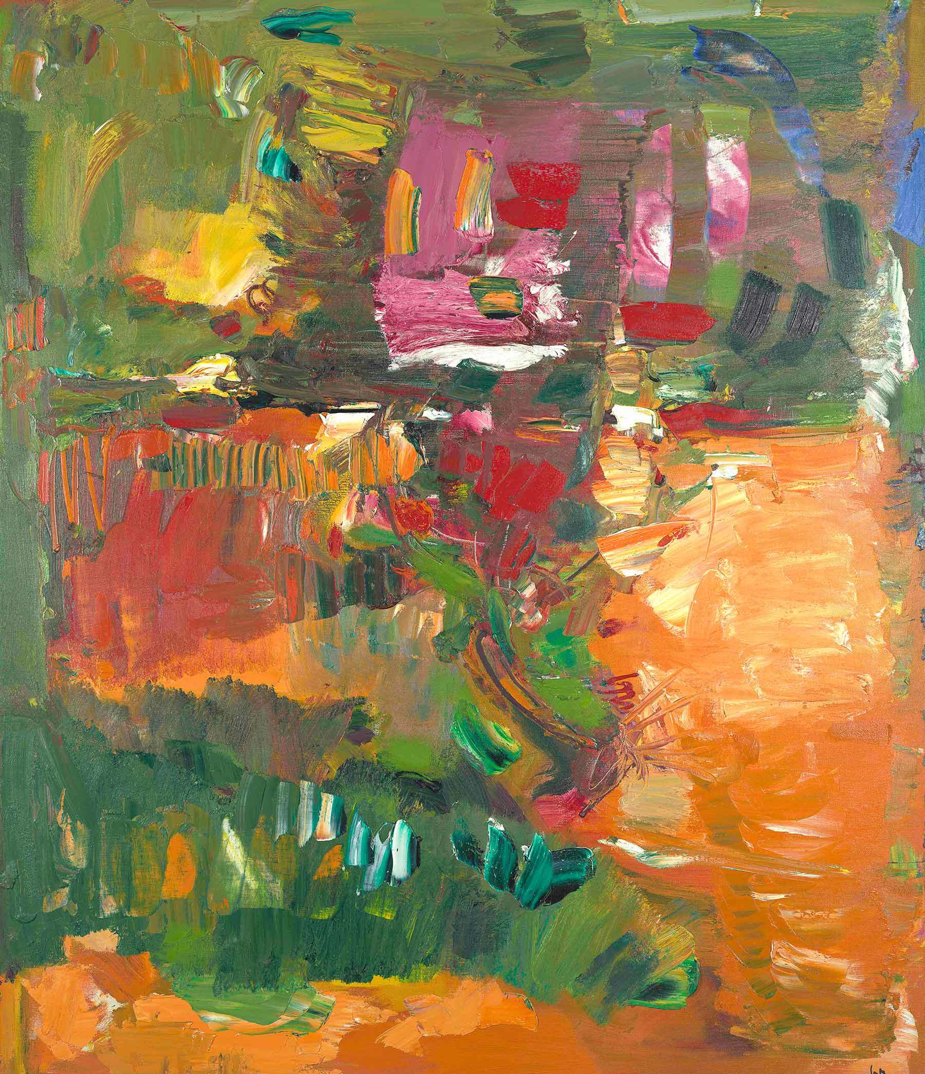 Hans Hofmann: In the Wake of the Hurricane, 1960
