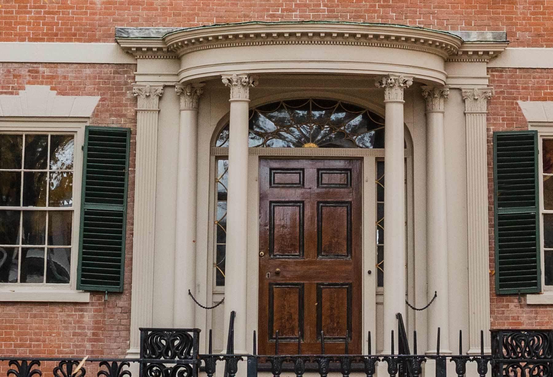 Door to the Crowninshield-Bentley House