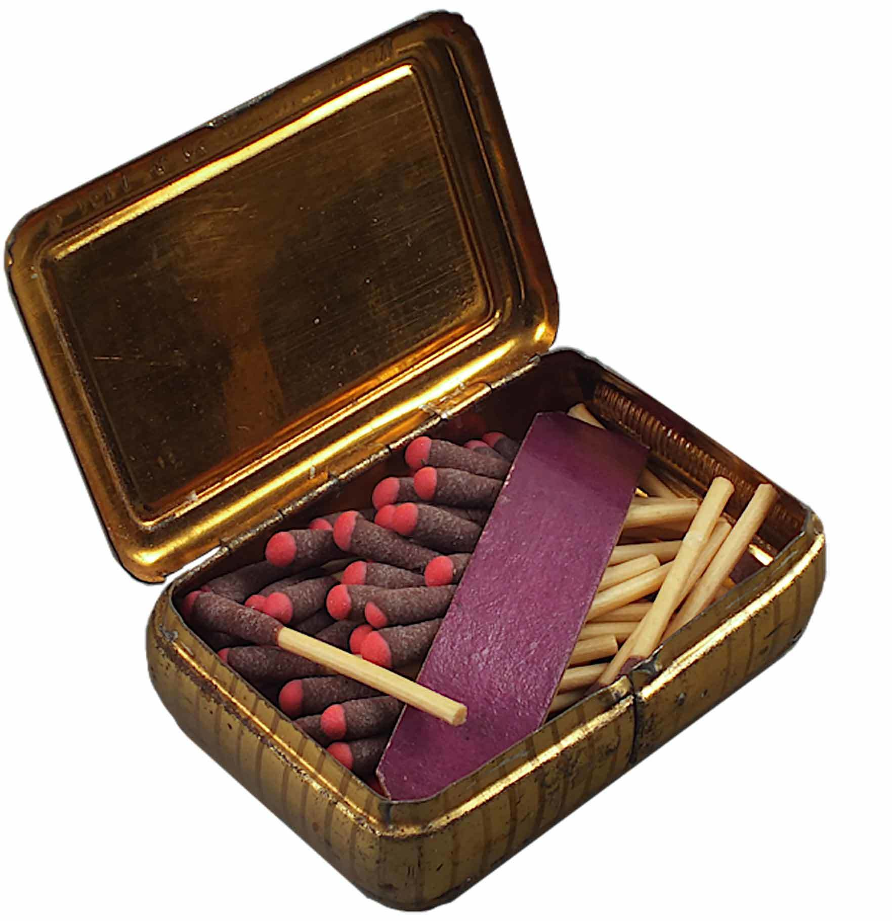 Match box. Object M14369.