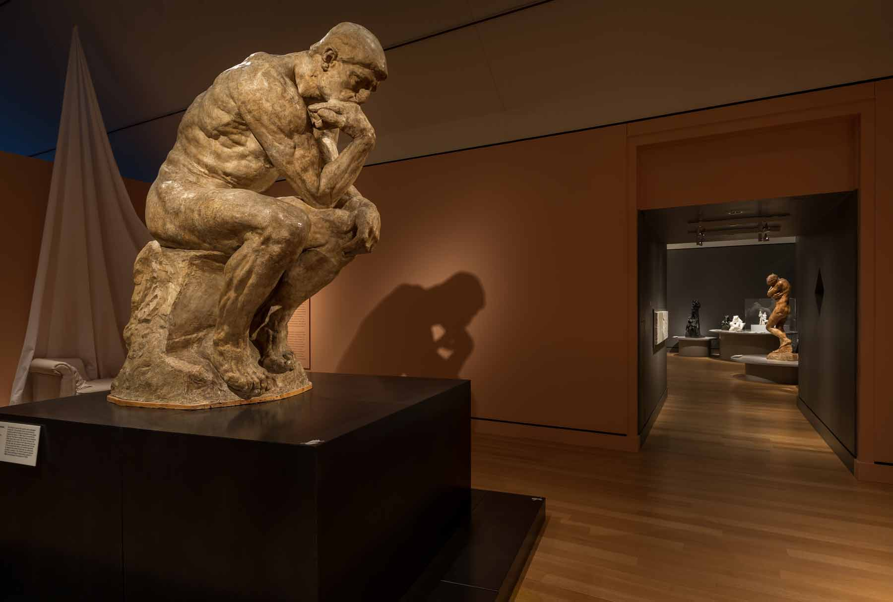 The Thinker at PEM