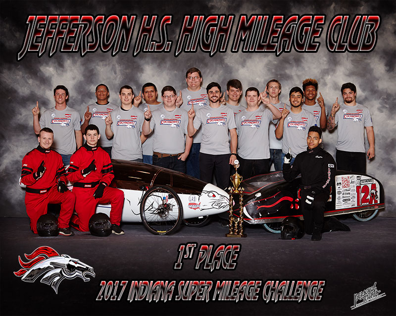 Lafayette Jeff High Mileage Club takes 1st Place