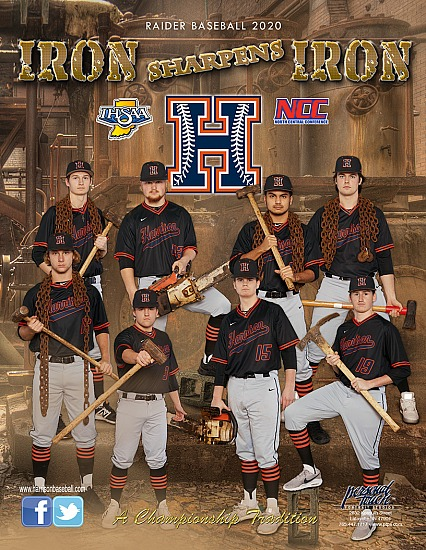 Harrison 2019-2020 Baseball Program Cover