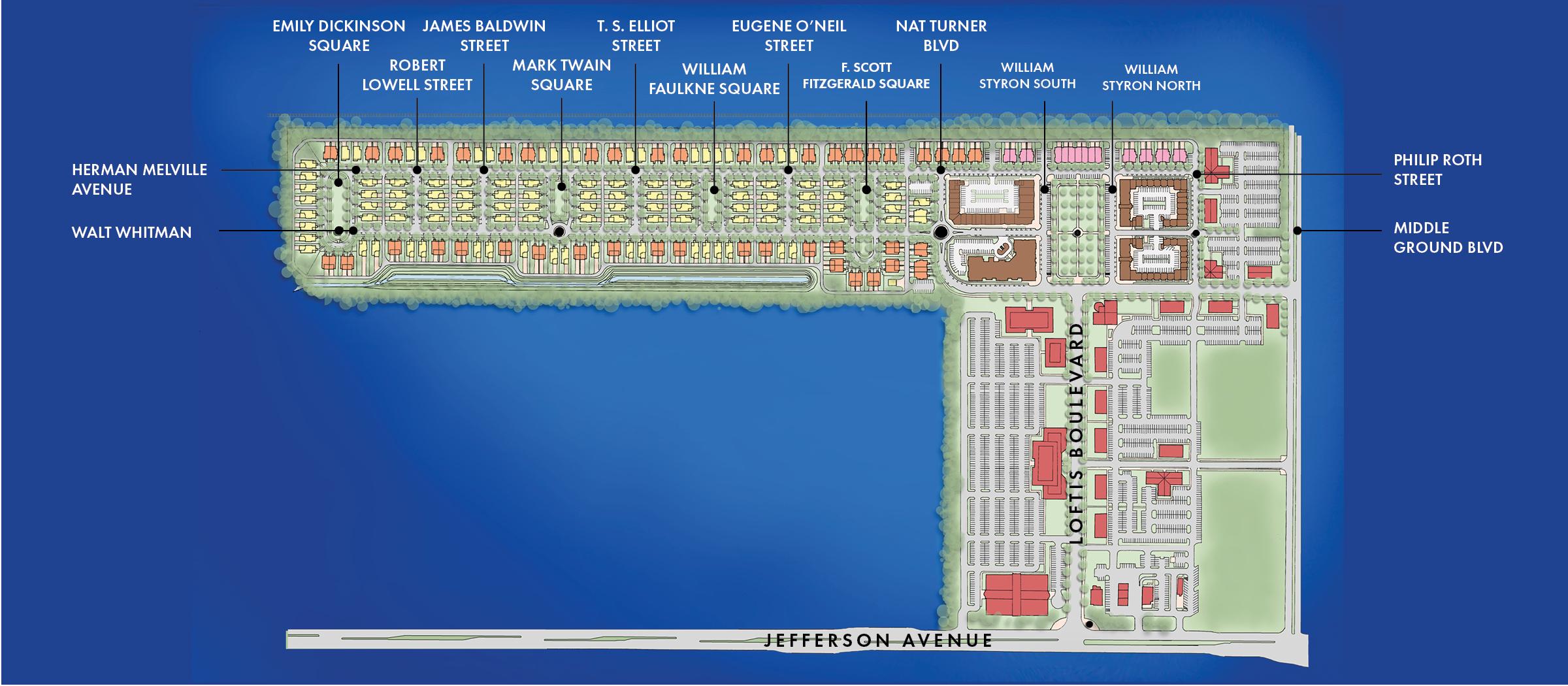 Port Warwick Diagram