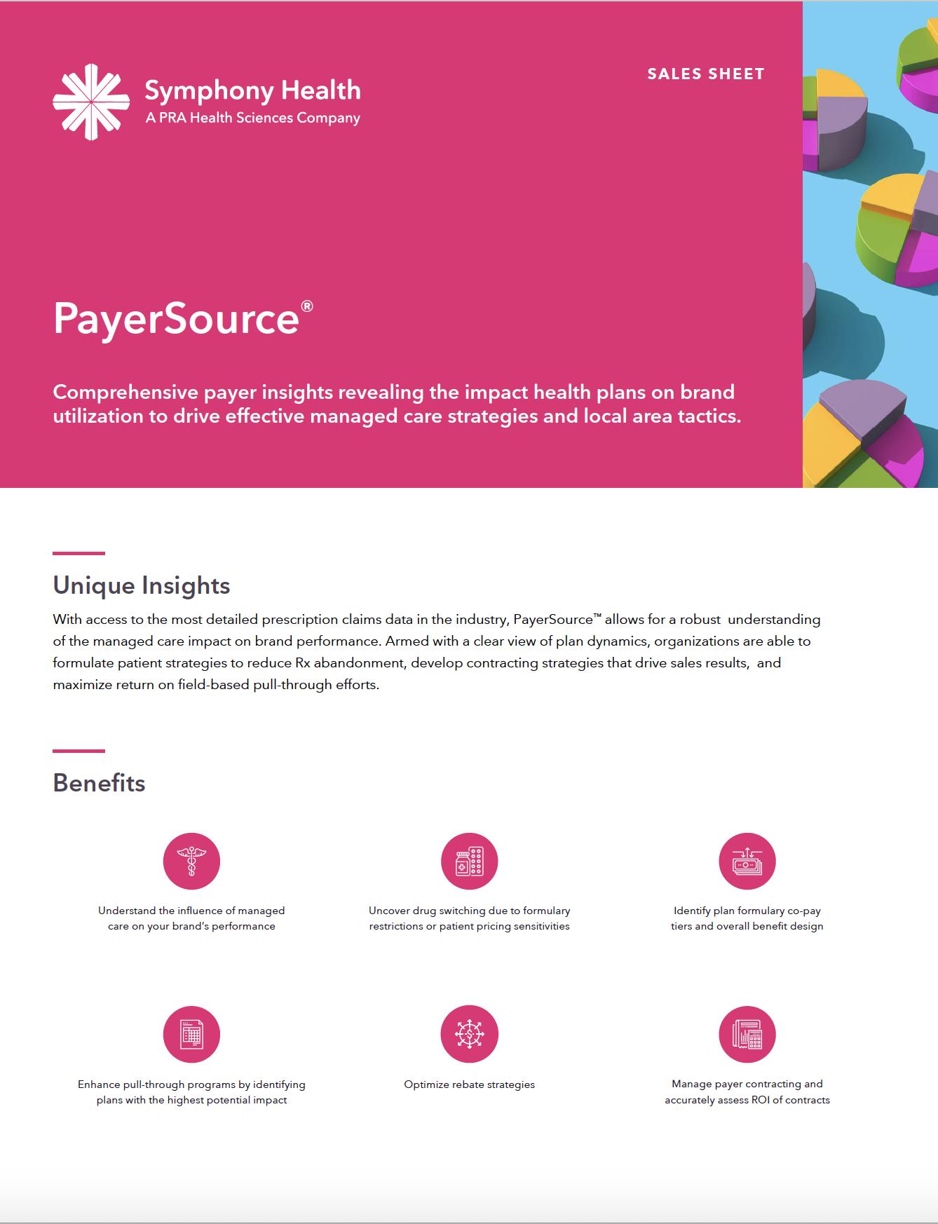 PayerSource® Sales Sheet