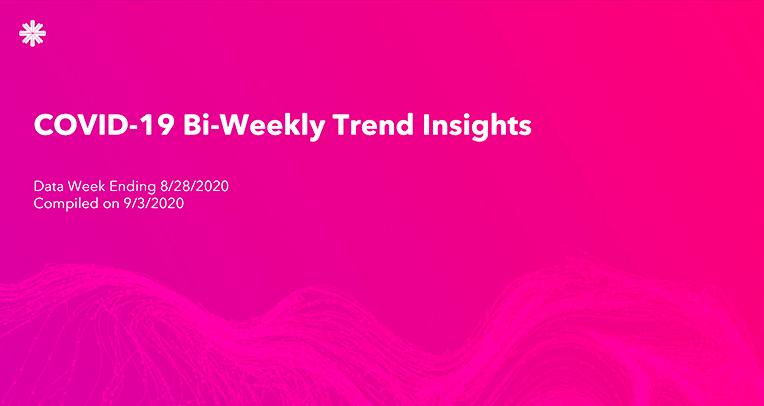 COVID-19 Bi-Weekly Trend Insights