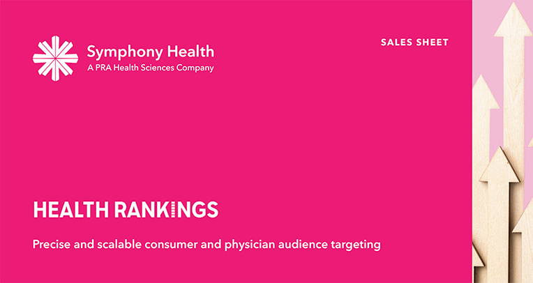 HealthRankings Sales Sheet