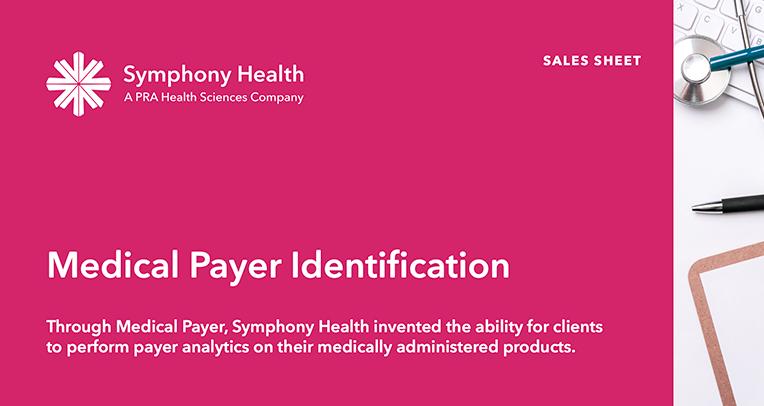 Medical Payer Identification Sales Sheet
