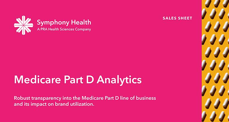 Medicare Part D Analytics