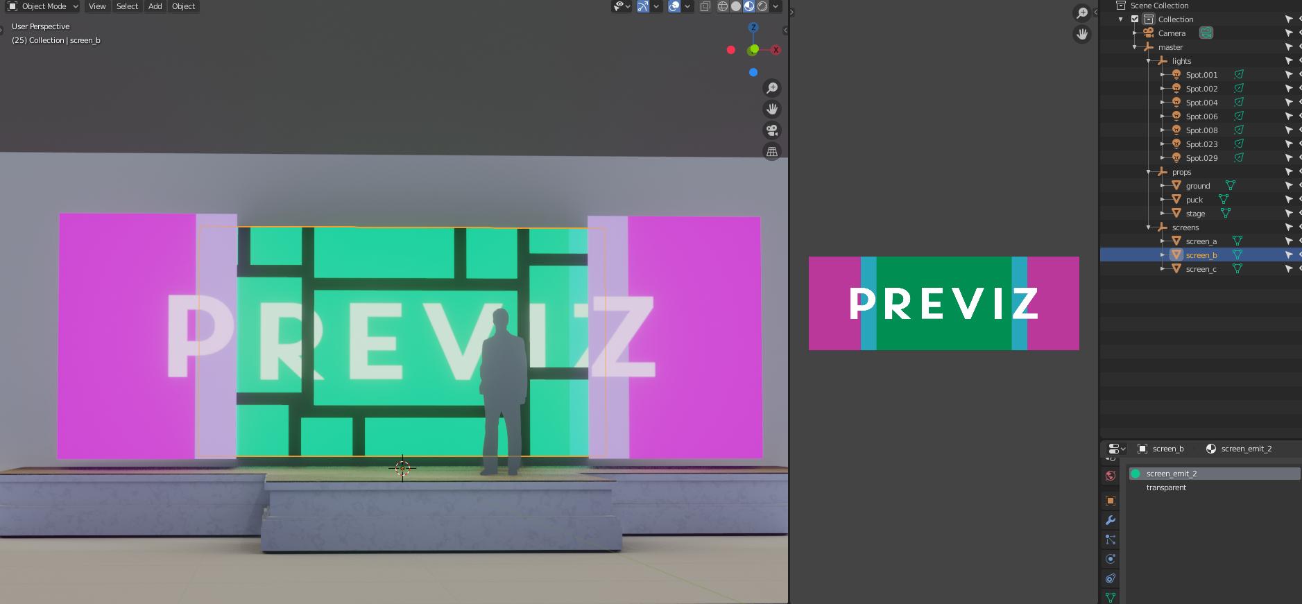 Previz Tutorial - Preparing Your Scene